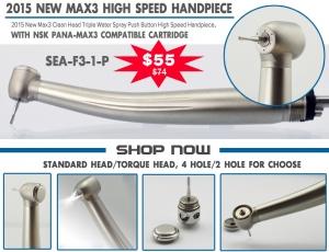 MAX3 high speed handpiece