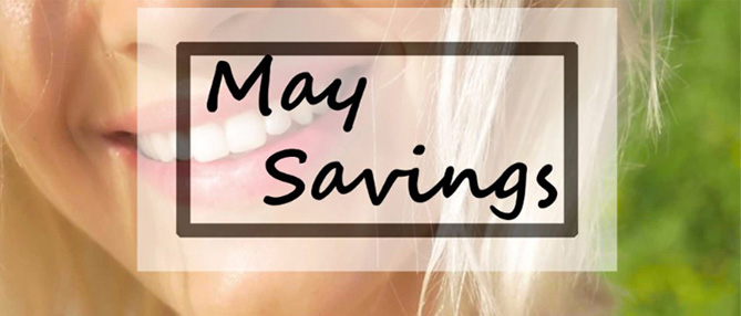 May savings on Treedental