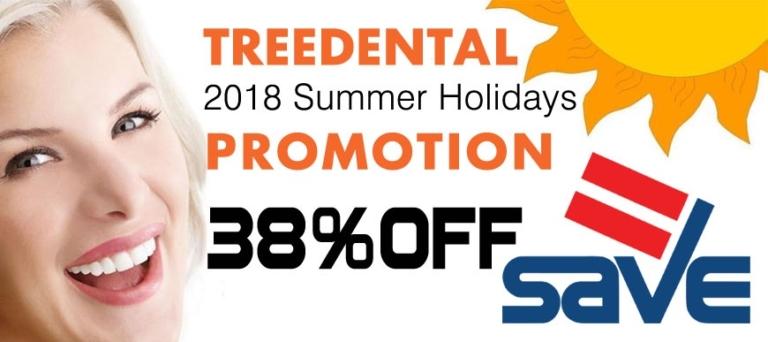 Treedental 2018 Summer Holidays Promotion